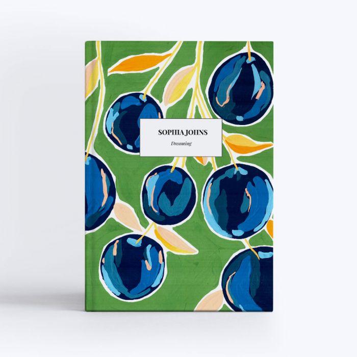 Blueberries Notebook