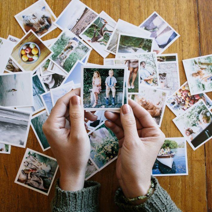 Mini Square Photo Prints