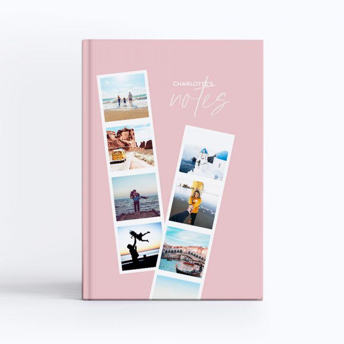 Pink Photostrip Notebook