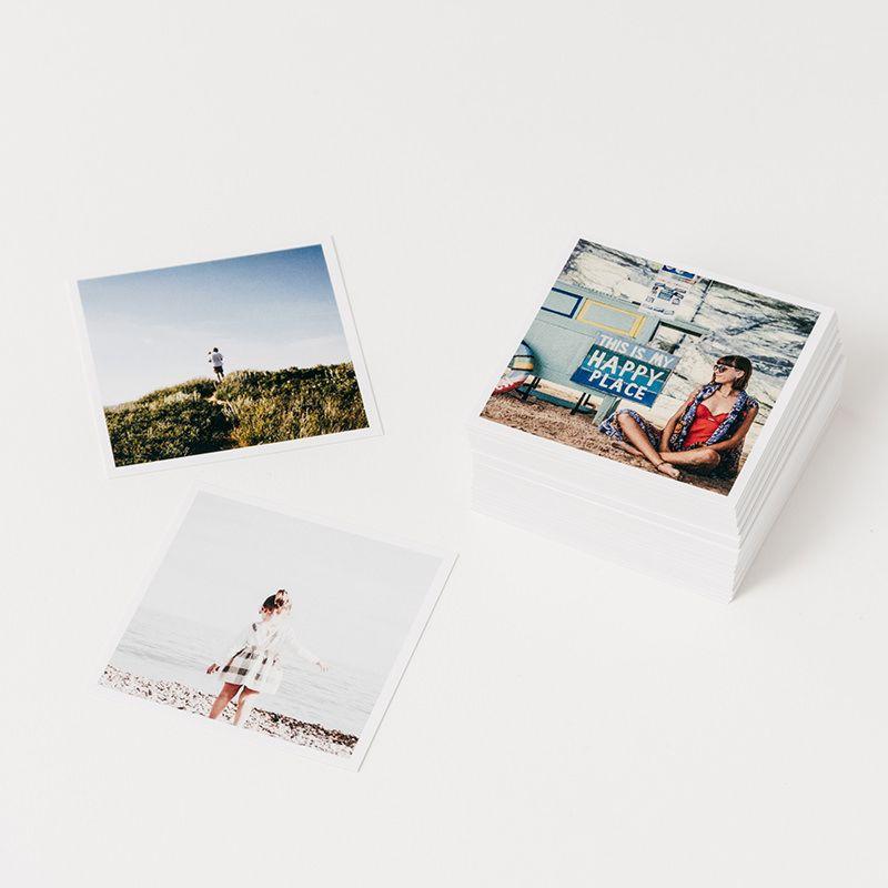 Square Photo Prints 4x4 10x10cm