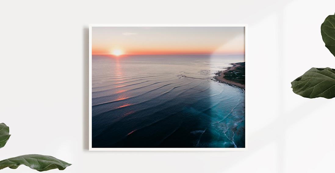 Gallery Framed Print White