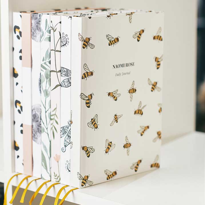 Bees Personalised Notebook