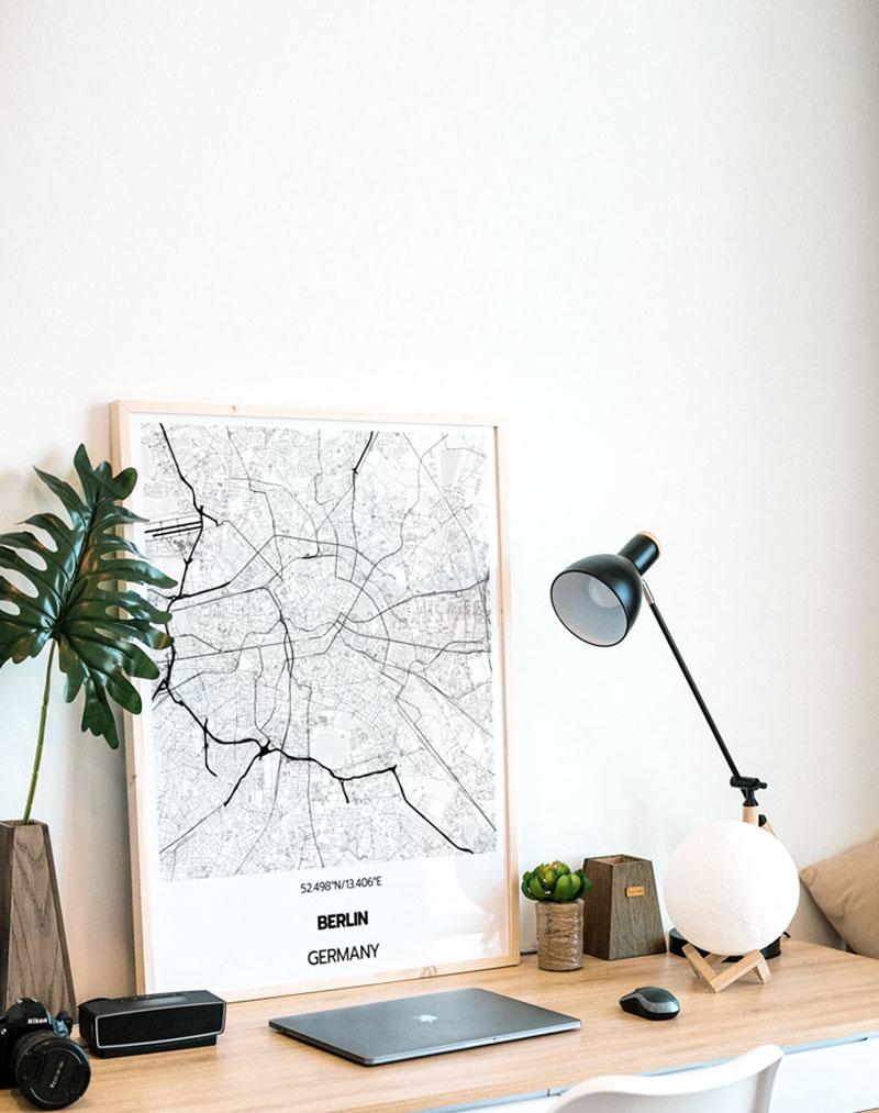 Custom Map Prints