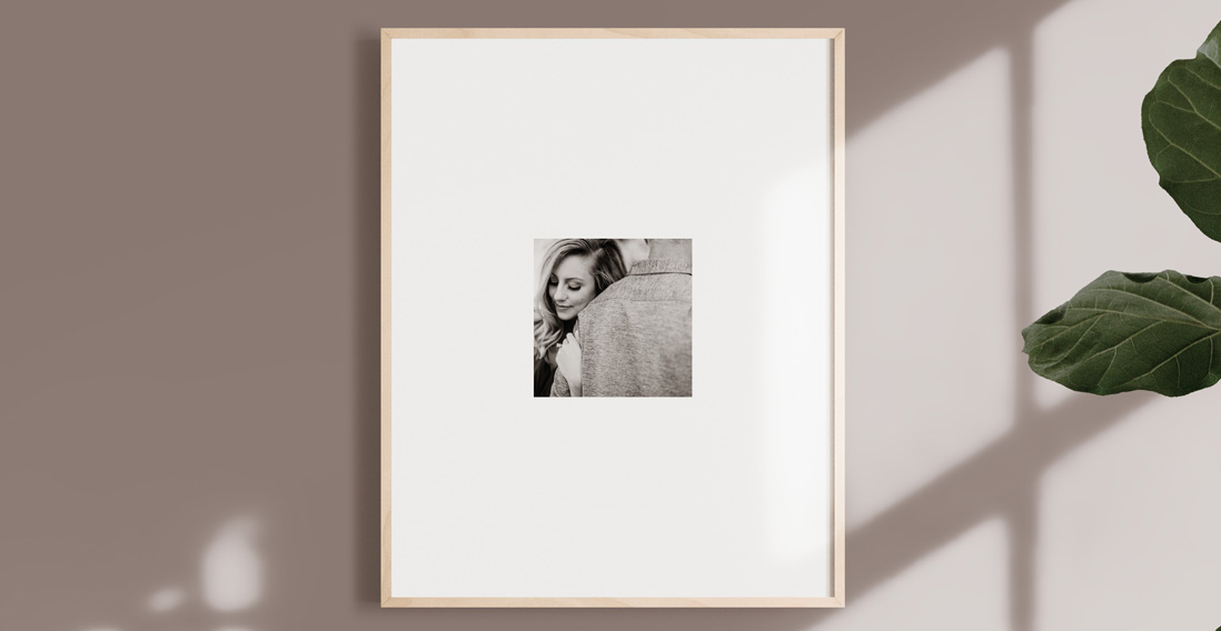 Gallery Framed Print Minimal