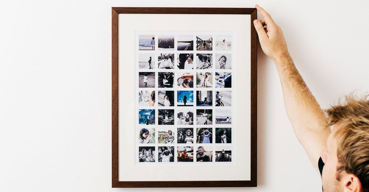 Instagram Gallery Frame | Order Online From Inkifi.com