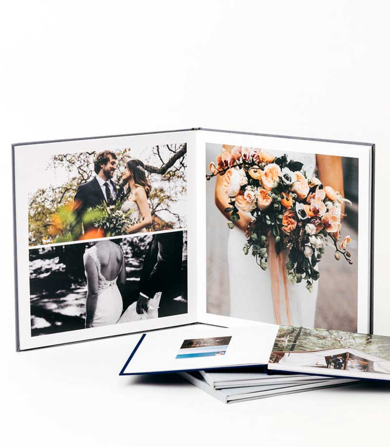 Lay Flat Photo Book