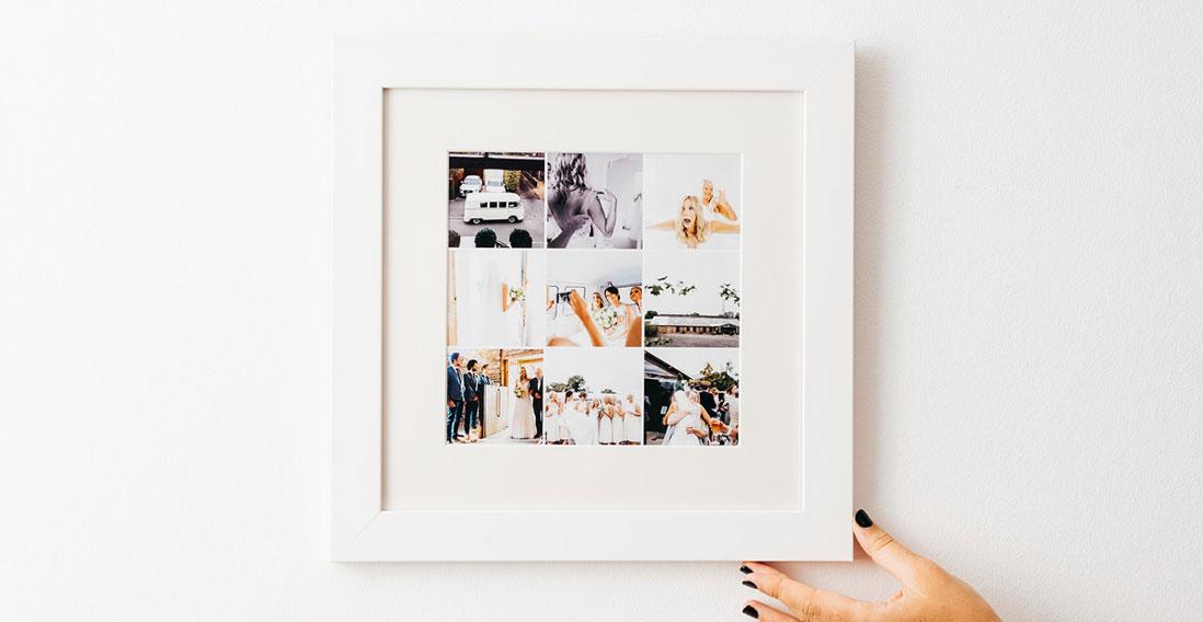 Montage Framed Print