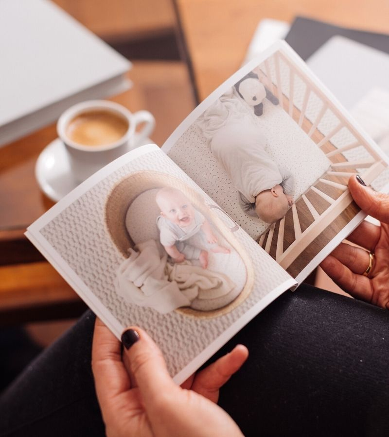 Softcover Baby Photo Book